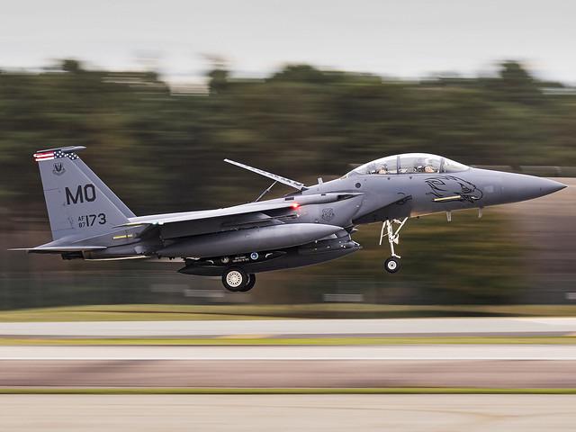 United States Air Force | McDonnell Douglas F-15E Strike Eagle | 87-0173