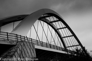 A brige over the Usk River South Wales