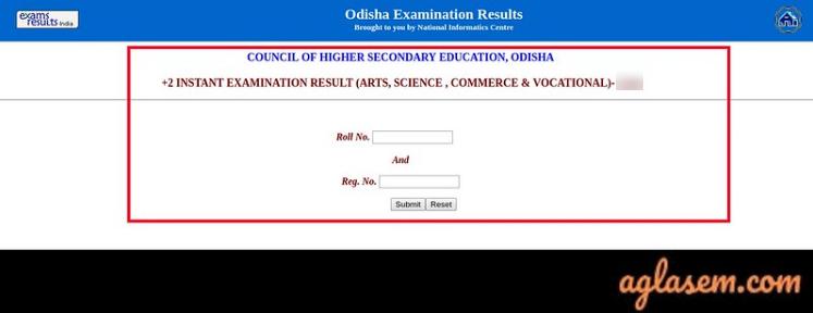 Odisha +2 Result 2020