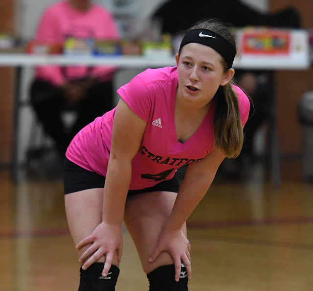 Bunnell at Stratford Volleyball