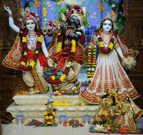 ISKCON GEV Wada Deity Darshan 17 Oct 2019