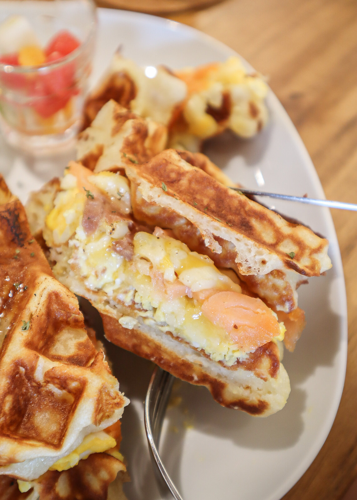 waffle layers
