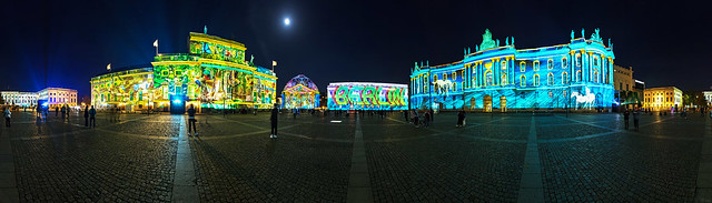 Bebelplatz Panorama - Festival of Lights 2019