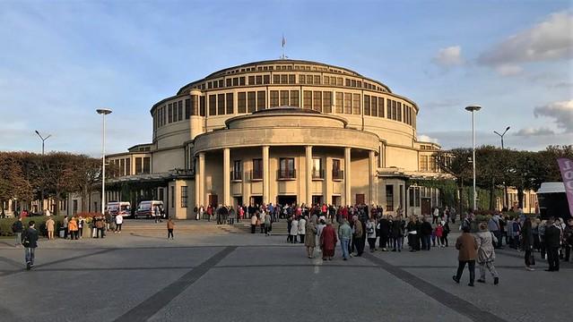 1911/13 Breslau Jahrhunderthalle in Stahlbetonbauweise von StBR Max Berg ul. Zygmunta Wroblewskiego/Wystawowa 1 in Grüneiche in 51-618 Polen