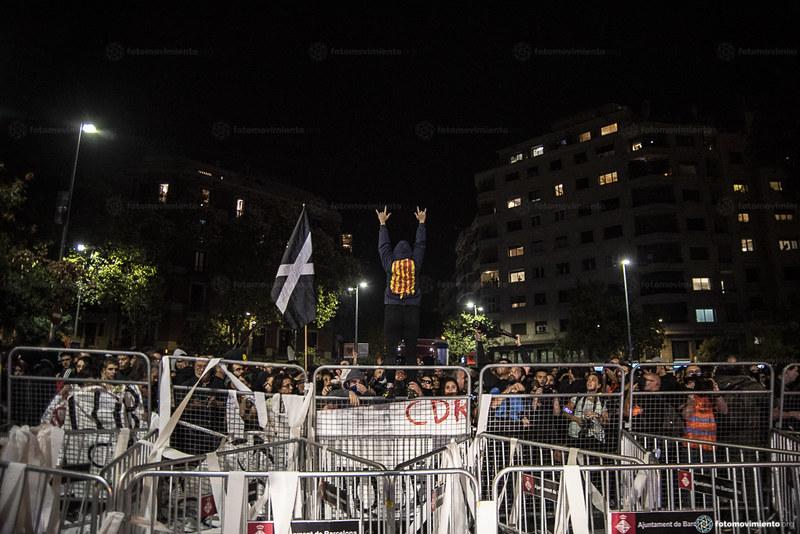 2019_10_16 Tercer dia de manifestacions dels CDR a Barcelona_Xavi Ariza(01)