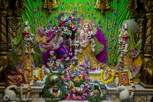 ISKCON Vrindavan Deity Darshan 17 Oct 2019