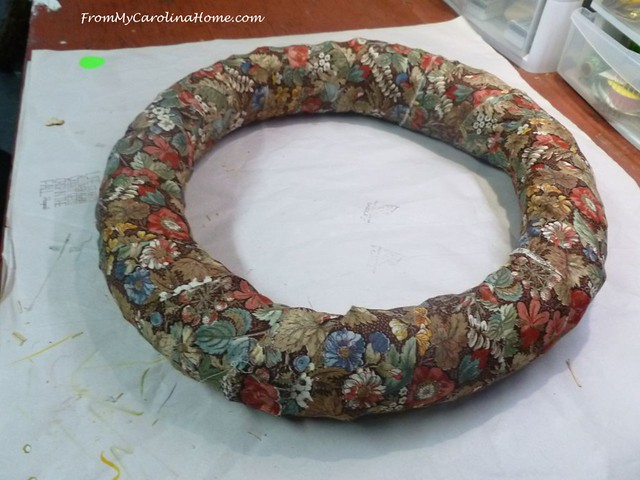 Autumn Jubilee Kitchen Wreath at FromMyCarolinaHome.com