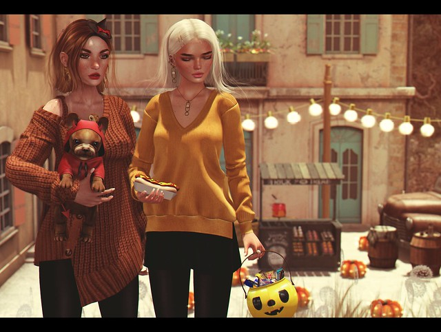 LOOK-1008:Trick or treating :P