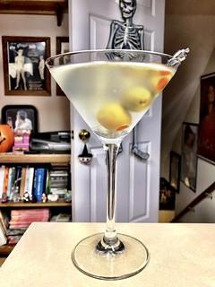 2019 289/365 10/16/2019 WEDNESDAY  -  Wednesday's Martini