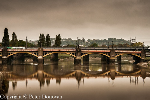 A very still river Usk