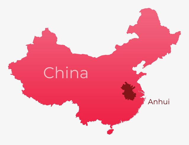 china-map-Anhui