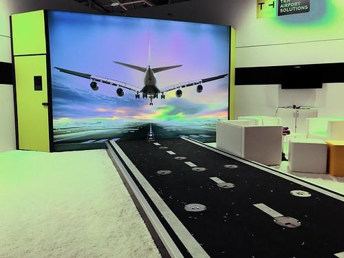 Wohnzimmer für Flugzeug-Fans