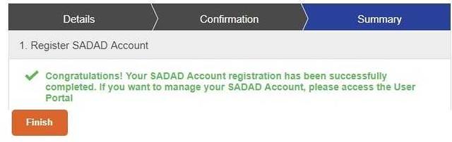 407 How to register a SADAD account in Saudi Arabia 06