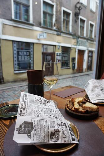 meal at restauran 3 Riga Latvia