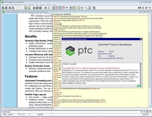 Working with PTC Arbortext Layout Developer 12.0 full