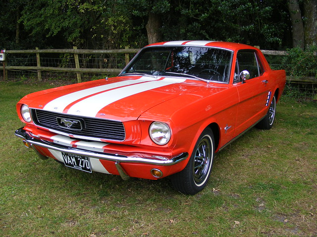 Ford Mustang VAM27D , Wool (Dorset) 03.08.2019