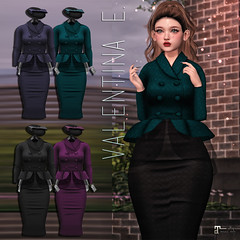 NEW! Valentina E. Faye Ensemble @ FaMESHed!