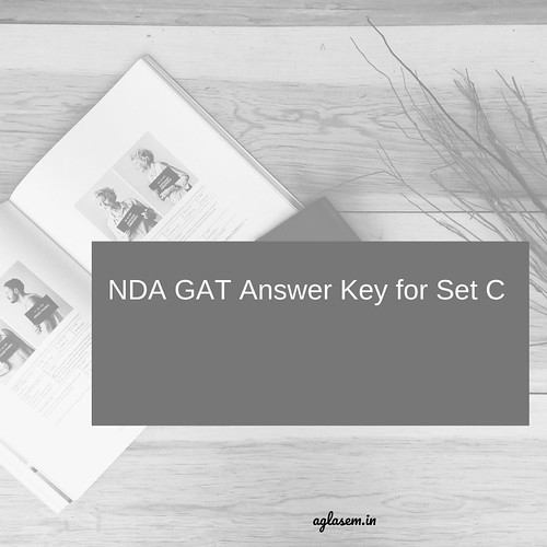 The NDA GAT Answer Key for Set C is available here-min