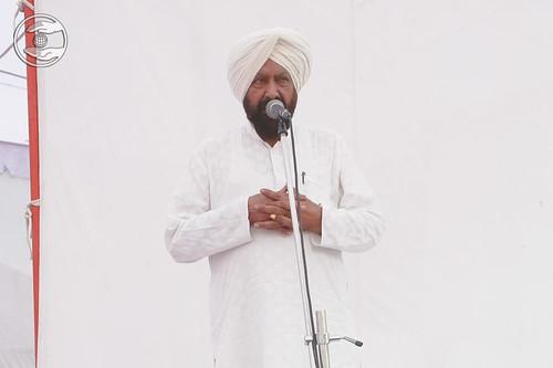 Speech by Dalbir Singh, Nirankari Colony