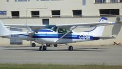Cessna 182 en el aerodromo de Empuriabrava