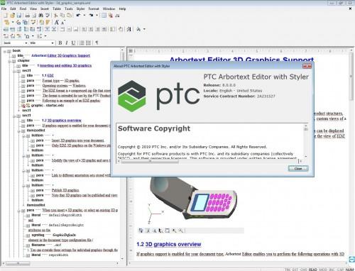 Working with PTC Arbortext Editor 8.0.0.0 Win64 full