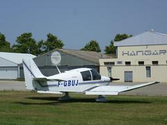 Robin DR 400 en el aerodromo de Empuriabrava