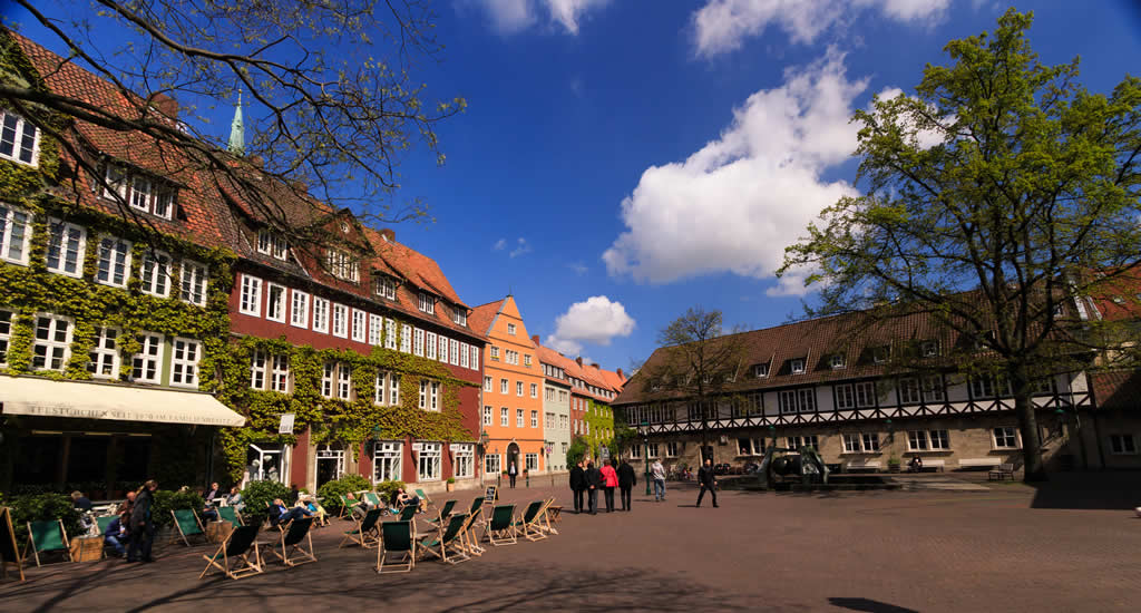 Bezienswaardigheden Hannover: Ballhofplatz | Mooistestedentrips.nl
