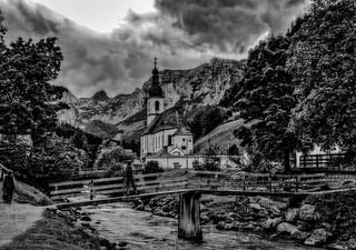Die Kirche in Ramsau.