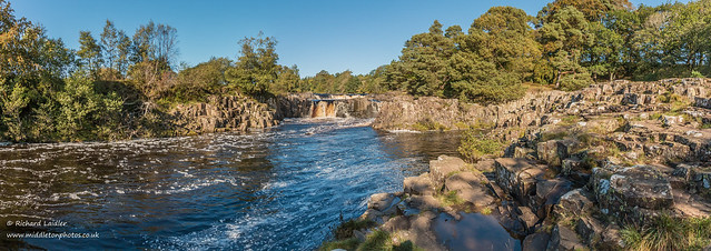 Low Force on a perfect autumn day 2 Oct 2019 Panorama