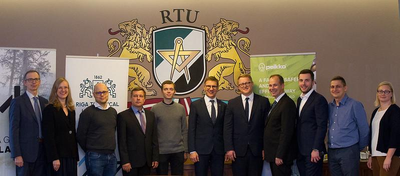 RTU un «Peikko Group Corporation» paraksta saprašanās memorandu