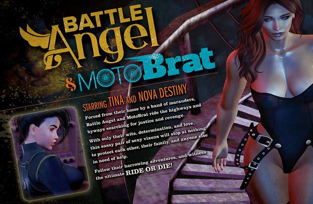 Battle Angel & MotoBrat
