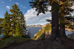 Along Crater Lake