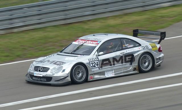 324 Mercedes Benz CLK AMG 2000 silver vlo