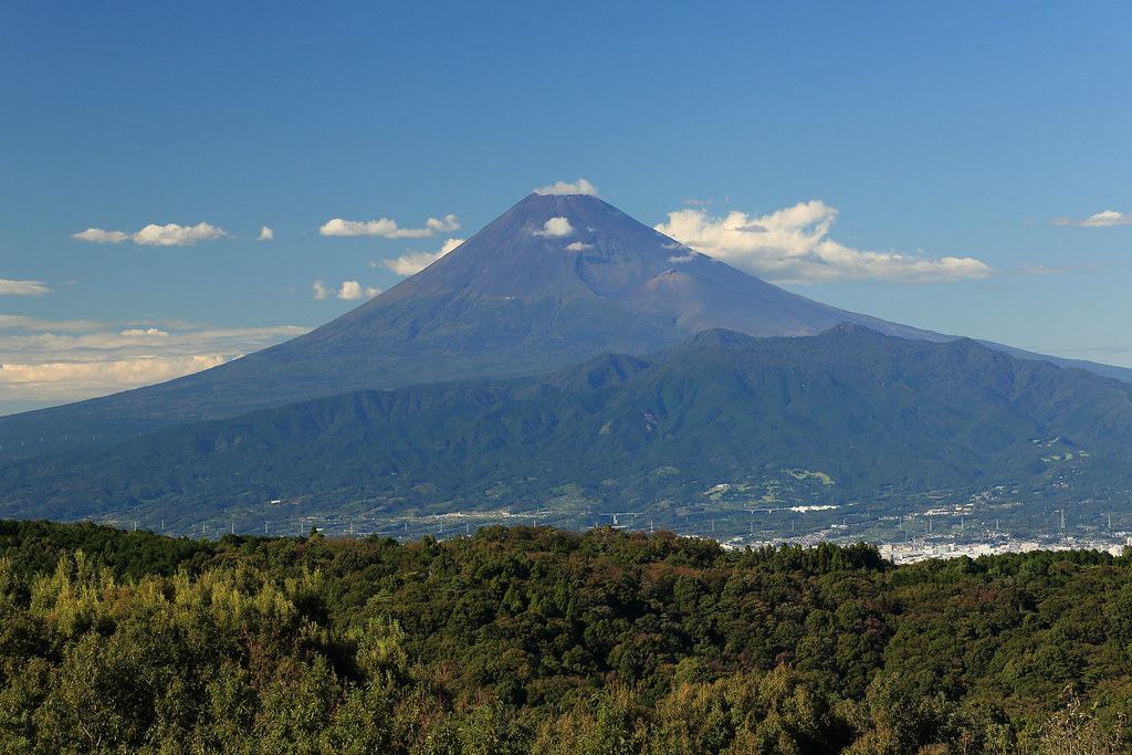 Mt. Fuji under the clear sky
