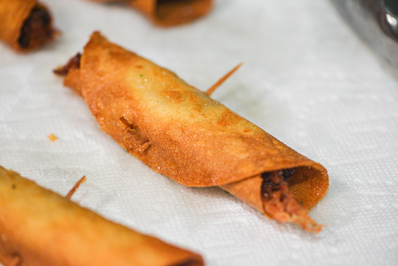 Smoked Carnitas Taquitos