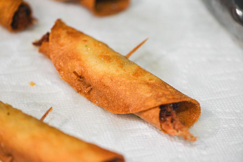 Smoked Carnitas Taquitos