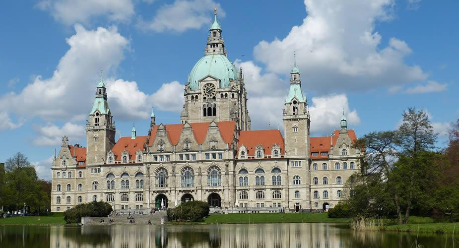 Bezienswaardigheden Hannover: Neues Rathaus | Mooistestedentrips.nl