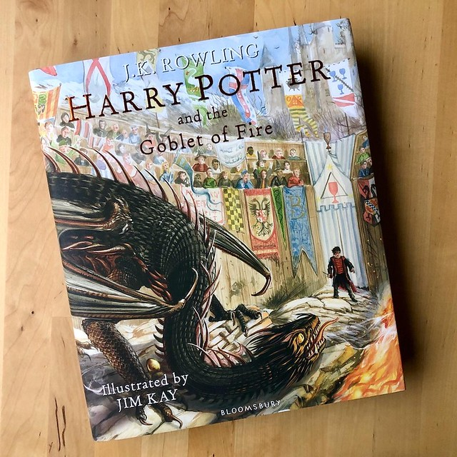 Harry Potter and the Goblet of Fire: Illustrated Edition By J.K. Rowling, Illustrated by Jim Kay