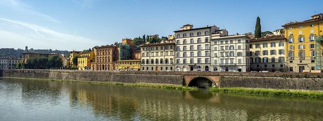 Florence Riverfront Morning