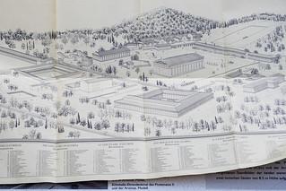 Modellhafter Plan des Heiligtums