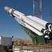 Proton with EUTELSAT 5 West B satellite at Launch Pad 39, Baïkonur Cosmodrome (Kazakhstan)