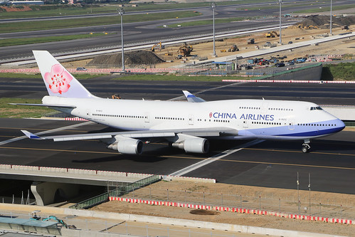 B-18212  -  Boeing 747-409  -  China Airlines  -  TPE/RCTP 11/10/19 | by Martin Stovey