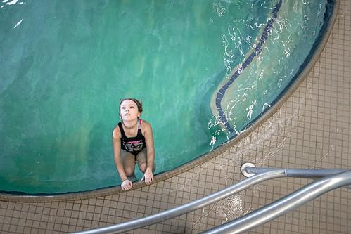 Students on the Swim