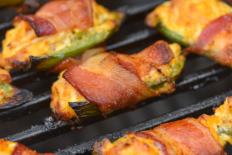 Buffalo Chicken Jalapeño Poppers