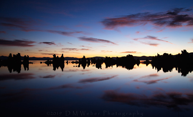 Rorschach Morning at Mono Lake