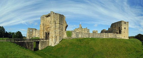 Warkworth castle and the gulf stream