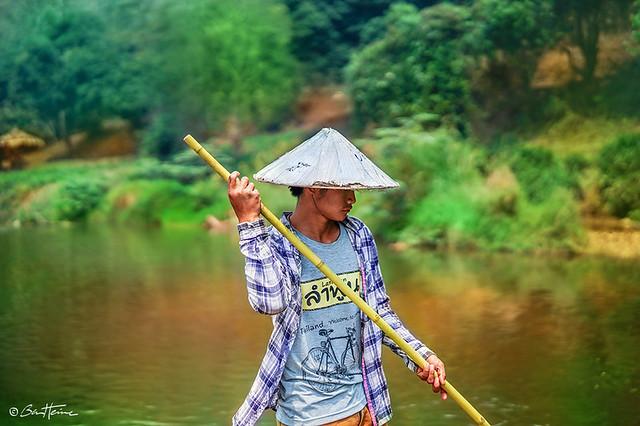 Boat Driver, Thailand (Ben Heine Photography)