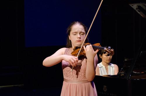 Hanna Pozorska, violin and Akiko Tominaga, piano