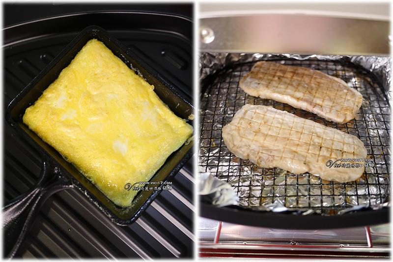 碳烤里肌三明治907