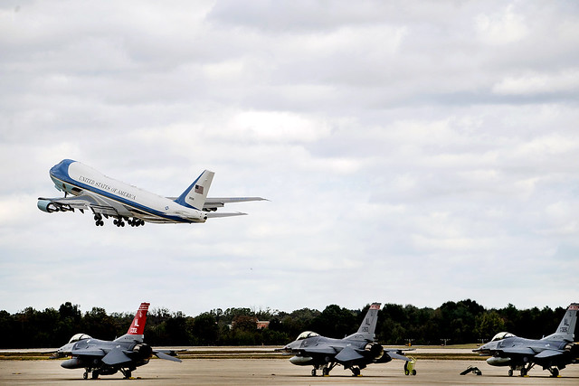 President Trump Departs for TX